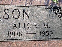 Alice Maria <i>Munday</i> Johnson