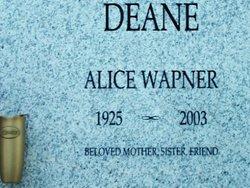 Alice <i>Wapner</i> Deane
