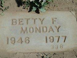 Betty Fay <i>Sutton</i> Monday