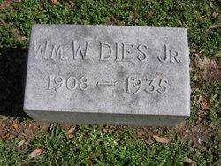 William Washington Dies, Jr