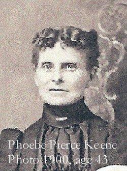 Phoeba Rebecca <i>Pierce</i> Keene