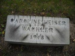 Caroline Heiser Wackler
