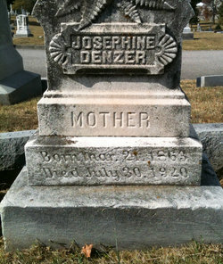 Josephine <i>Pirrmann</i> Denzer