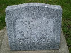 Dorothy H Allen