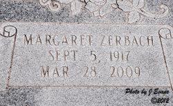 Margaret Peggy <i>Zerbach</i> Barnhill