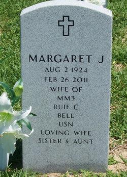 Mrs Margaret Elizabeth Maggie <i>Jeffries</i> Bell
