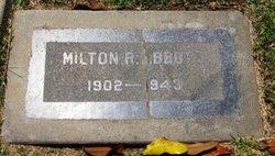 Milton Robert Abbott