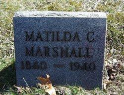 Matilda C. <i>Corl</i> Marshall