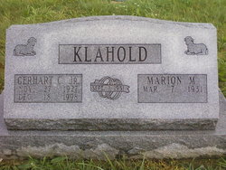 Gerhart Carl Sonny Klahold, Jr