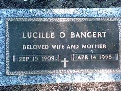Lucille O <i>Betz</i> Bangert