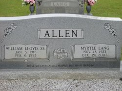 Myrtle <i>Lang</i> Allen