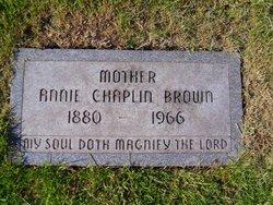Annie <i>Chaplin</i> Brown