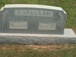 Mattie Elizabeth <i>McDaniel</i> Copeland