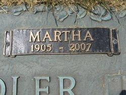 Martha <i>Witzke</i> Recksiedler