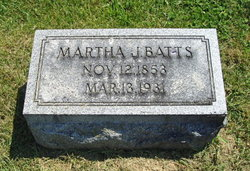 Martha Jane <i>Chilton</i> Batts