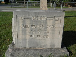 Jane <i>Waters</i> Davis
