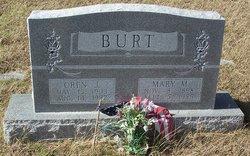 Mary Maud <i>Hendrick</i> Burt