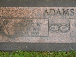 Donald Wayne Adams