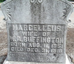 Amanda Marcellus Marcie <i>Poole</i> Buffington