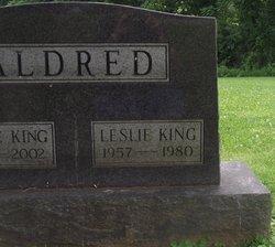 Leslie <i>King</i> Aldred