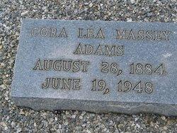 Cora Lea Lee <i>Massey</i> Adams