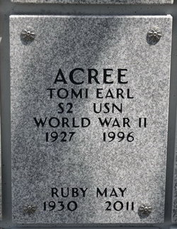 Ruby May <i>Timberlake</i> Acree