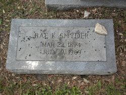 Rae K Snyder