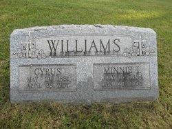 Minnie Iola <i>Dunkle</i> Williams