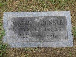 Blaine J Dunkle