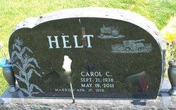 Carol C <i>Rauls</i> Helt