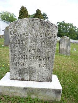 Isabel Cass <i>Borland</i> Ackerman
