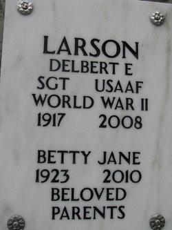Delbert E Larson