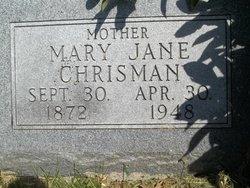 Mary Jane <i>Tilford</i> Chrisman