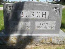 Maud Della <i>Wright</i> Burch