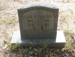 Earl P Clayton