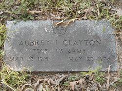 Aubrey I Clayton