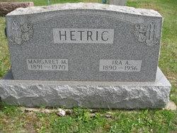 Margaret M <i>McGale</i> Hetric