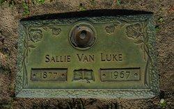 Sarah Van Sallie <i>Luke</i> Luke