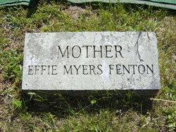 Zilpha Maria Effie <i>Myers</i> Fenton