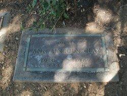 Ann <i>Lincoln</i> Clay