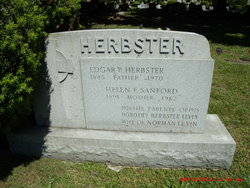 Helen F <i>Sanford</i> Herbster
