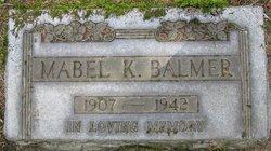 Mabel Katherine <i>Bright</i> Balmer