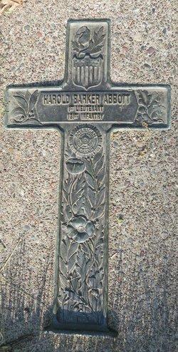Lieut Harold Barker Abbott