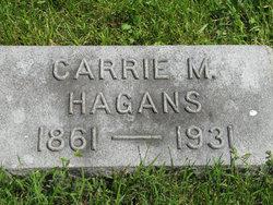 Carrie M <i>Masecar</i> Hagans