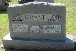 Alice F <i>Crawford</i> Bryant