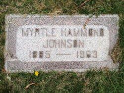 Myrtle Hammond Johnson