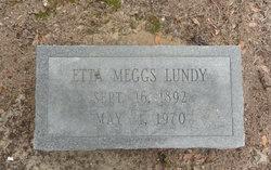 Etta <i>Meggs</i> Lundy