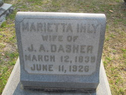 Marietta <i>Ihly</i> Dasher