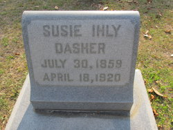 Susie <i>Inly</i> Dasher