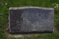 Mary Julia Alden